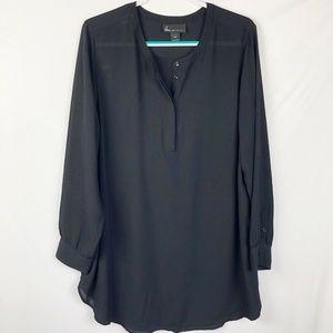 Lane Bryant Women's Blouse Size 18/20 black